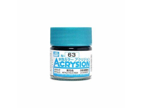 Mr.Hobby Acrysion N-063 Metallic Blue Green