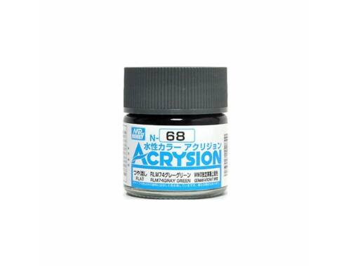 Mr.Hobby Acrysion N-068 RLM74 Gray Green