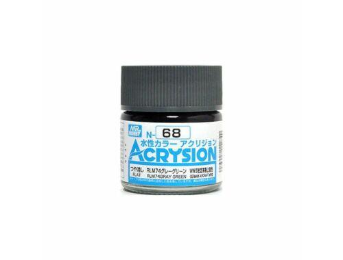Mr.Hobby Acrysion N-068 RLM74 Gray Green