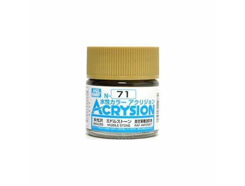 Mr.Hobby Acrysion N-071 Middle Stone