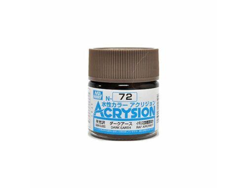 Mr.Hobby Acrysion N-072 Dark Earth
