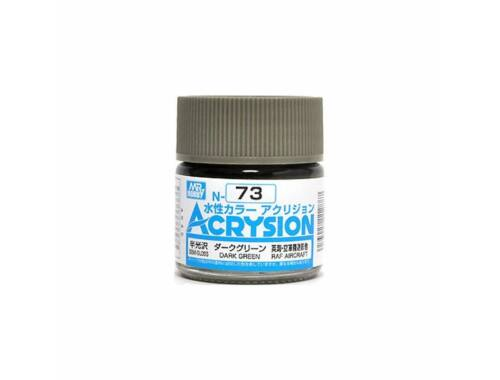 Mr.Hobby Acrysion N-073 Dark Green
