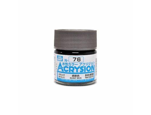 Mr.Hobby Acrysion N-076 Burnt Iron