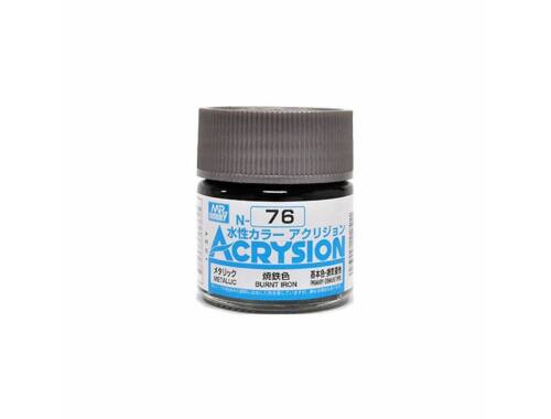 Mr.Hobby Acrysion N-076 Burnt Iron