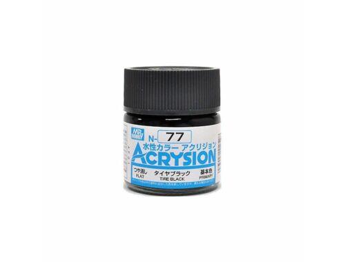 Mr.Hobby Acrysion N-077 Tire Black