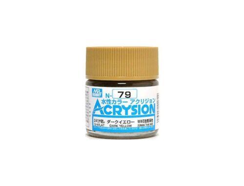 Mr.Hobby Acrysion N-079 Dark Yellow