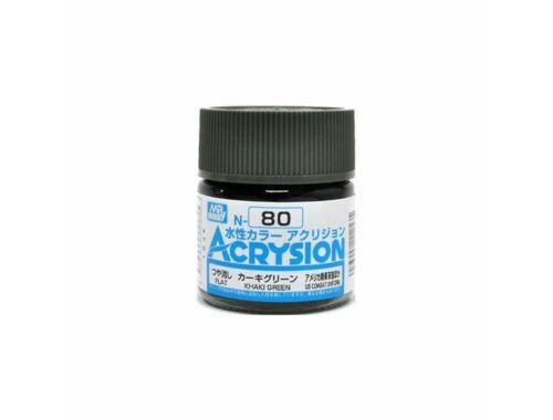 Mr.Hobby Acrysion N-080 Khaki Green