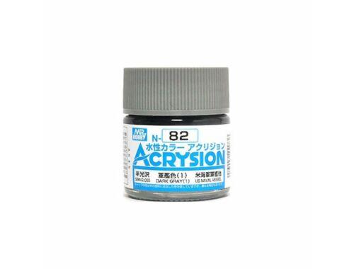Mr.Hobby Acrysion N-082 Dark Gray (1)