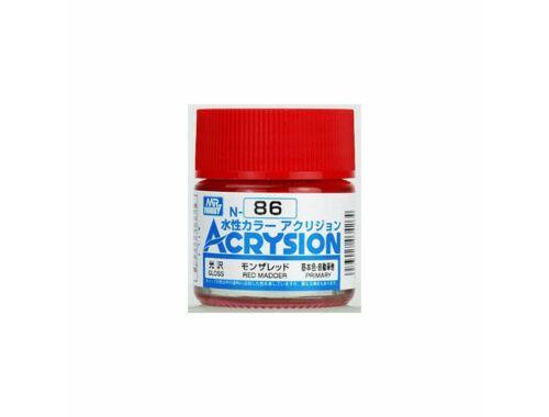 Mr.Hobby Acrysion N-086 Red Madder