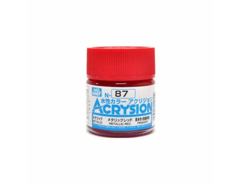 Mr.Hobby Acrysion N-087 Metallic Red