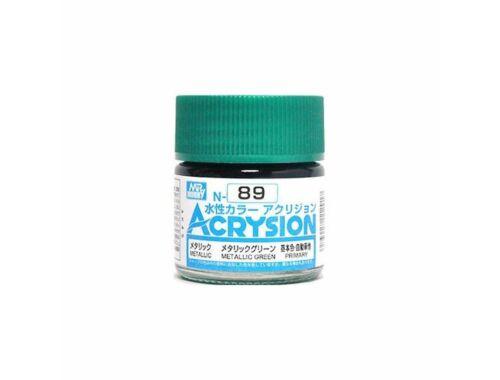 Mr.Hobby Acrysion N-089 Metallic Green