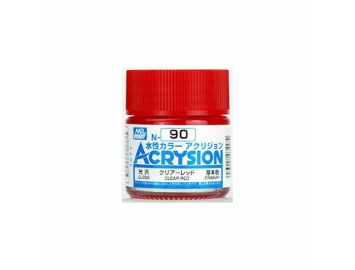 Mr.Hobby Acrysion N-090 Clear Red