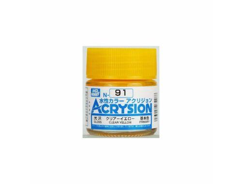 Mr.Hobby Acrysion N-091 Clear Yellow