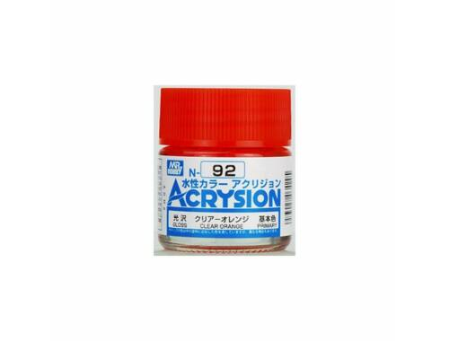 Mr.Hobby Acrysion N-092 Clear Orange