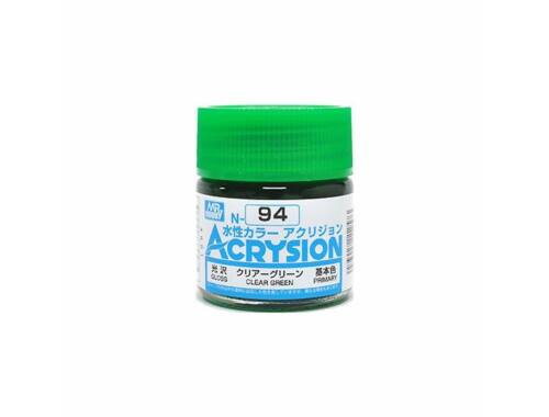 Mr.Hobby Acrysion N-094 Clear Green