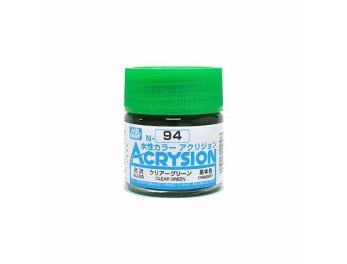 Mr.Hobby Acrysion N-094 Clear Green