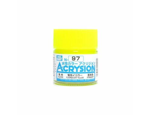 Mr.Hobby Acrysion N-097 Fluorescent Yellow