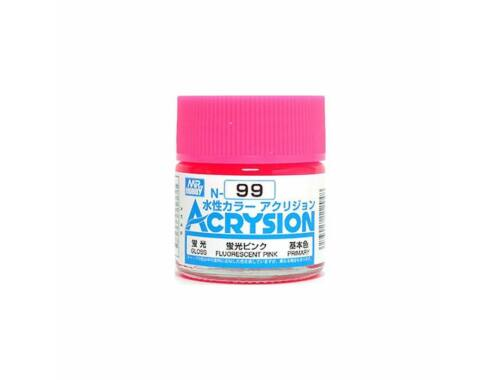 Mr.Hobby Acrysion N-099 Fluorescent Pink