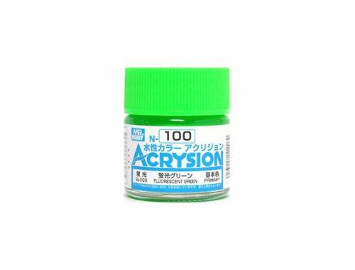 Mr.Hobby Acrysion N-100 Fluorescent Green