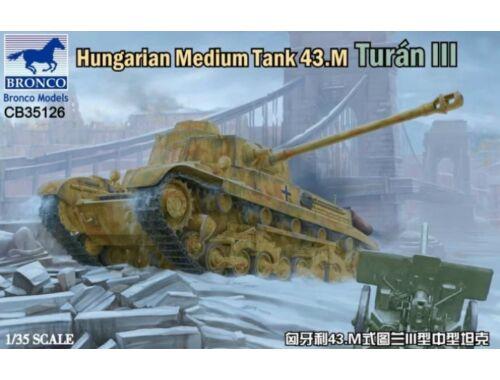 Bronco Hungarian Medium Tank 43M Turan III 1:35 (CB35126)