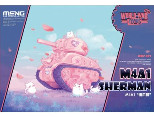 Meng M4A1 Sherman WW Toons Model Pinky (WWP-002)