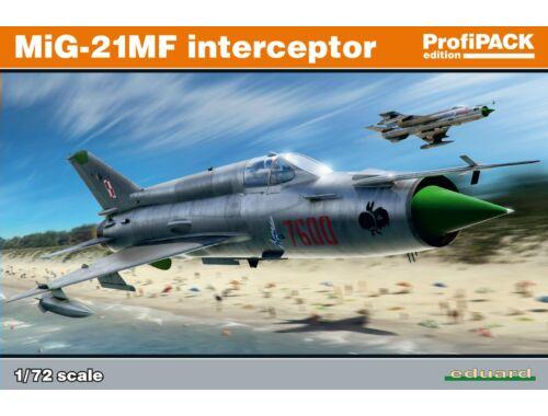 Eduard MiG-21MF interceptor ProfiPACK 1:72 (70141)
