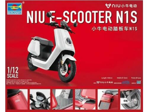 Trumpeter NIU E-Scooter N1S 1:12 (07305)
