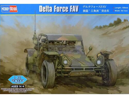 Hobby Boss Delta Force FAV 1:35 (82406)