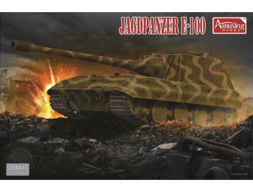 Amusing H. Jagdpanzer E-100 1:35 (35A017)