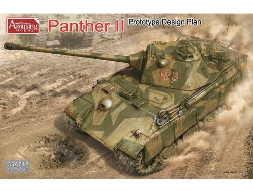 Amusing H. Panther II Prototype Design Plan 1:35 (35A012)