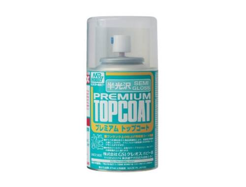 Mr.Hobby Mr.Premium Top Coat Semi-Gloss Spray B-602