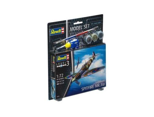 Revell Model Set Spitfire Mk. IIa 1:72 (63953)