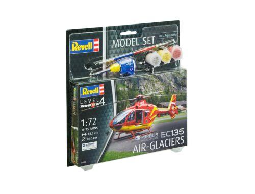 Revell Model Set EC 135 Air-Glaciers 1:72 (64986)