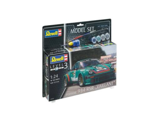 Revell Model Set Porsche 934 RSR Vaillant 1:24 (67032)