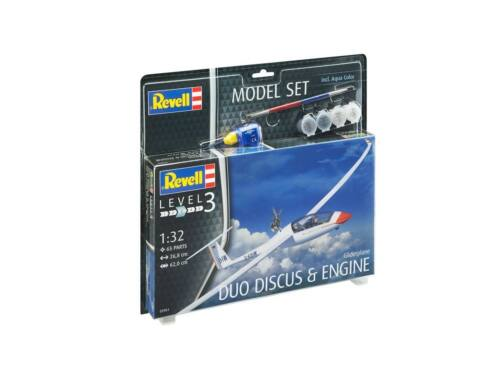 Revell Model Set Gliderplane DUO DISCUS engine 1:32 (63961)