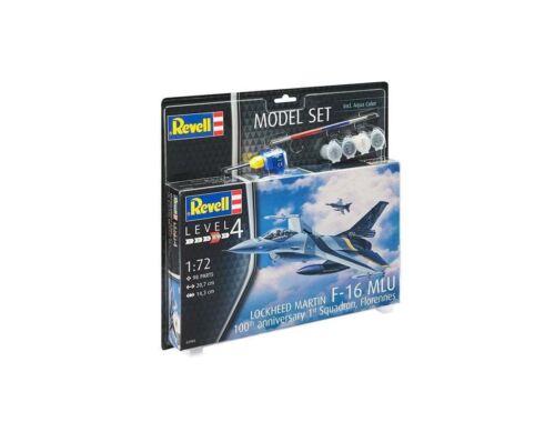 Revell Model Set F-16 Mlu (Belgium) 70th Anniversary 1:72 (63905)