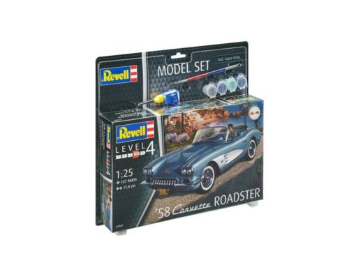 Revell Model Set '58 Corvette Roadster 1:25 (67037)