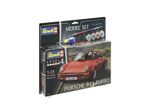 Revell Model Set Porsche 911 Turbo 1:24 (67179)