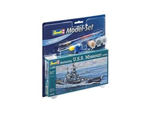 Revell Model Set Battleship USS Missouri 1:1200 (65128)