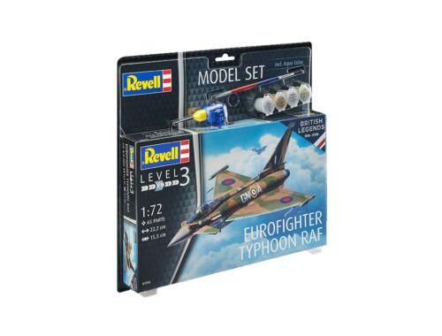 Revell Model Set 100 Years RAF - Eurofighter Typhoon RAF 1:72 (63900)