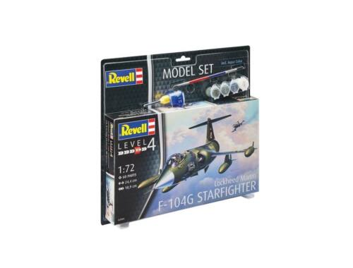 Revell Model Set F-104G Starfighter 1:72 (63904)