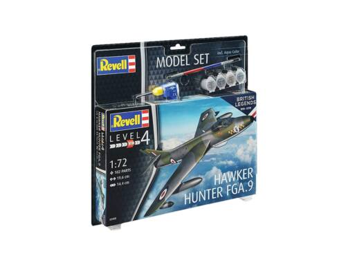 Revell Model Set 100 Years RAF: Hawker Hunter FGA.9 1:72 (63908)