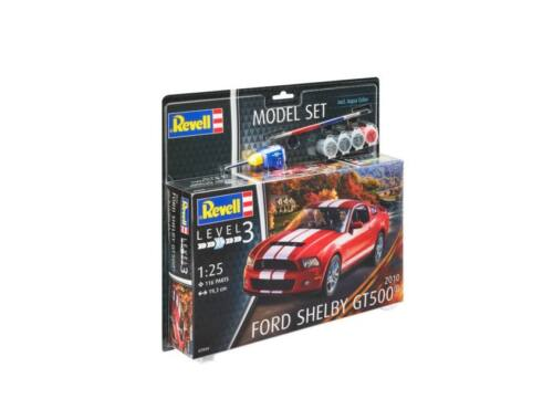 Revell Model Set 2010 Ford Shelby GT 500 1:25 (67044)
