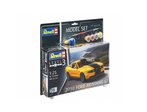 Revell Model Set 2010 Ford Mustang GT 1:25 (67046)
