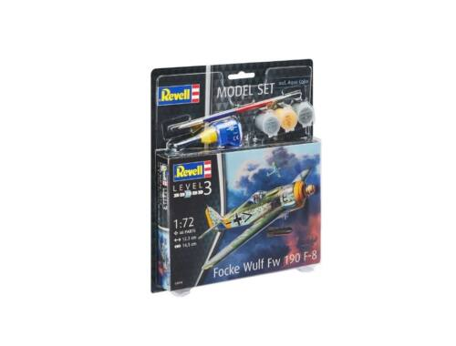 Revell Model Set Focke Wulf Fw190 F-8 1:72 (63898)