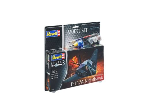 Revell Model Set F-117 Night Hawk 1:72 (63899)