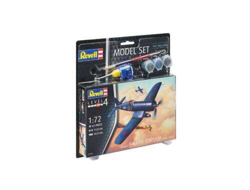 Revell Model Set F4U-1B Corsair Royal Navy 1:72 (63917)
