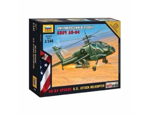 Zvezda Apache Helicopter 1:144 (7408)