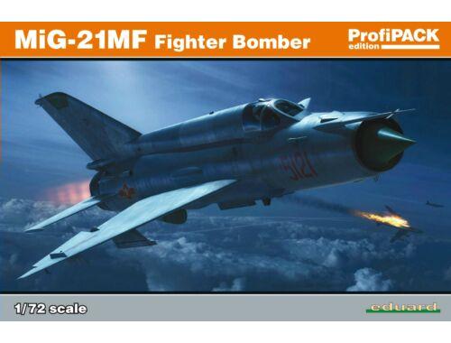Eduard MiG-21MF Fighter-Bomber ProfiPACK 1:72 (70142)