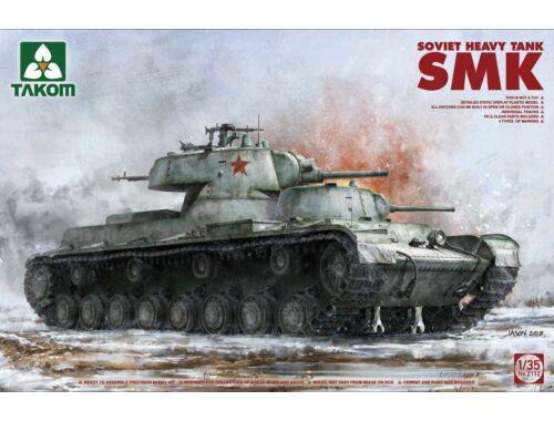 Takom Soviet Heavy Tank SMK 1:35 (2112)